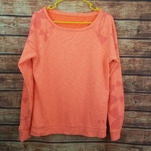 Underarmour womens pull over sweatshirt